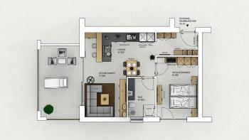 New: Type 14 - One Bedroom Suite with patio